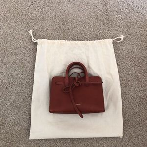 Small size bag from Mansur Gavriel with dusty bag.